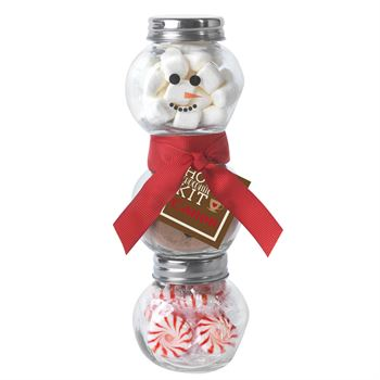 Hot Chocolate Snowman Kit - Personalization Available