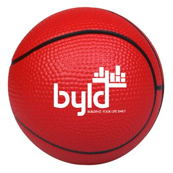Basketball Stress Reliever - Personalization Available