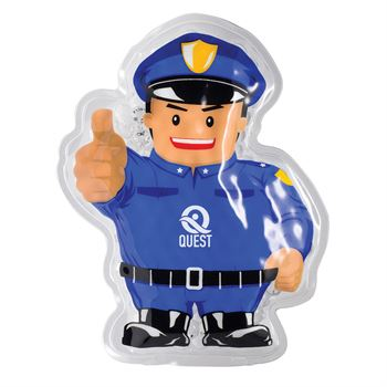Police Officer Hot/Cold Pack - Personalization Available