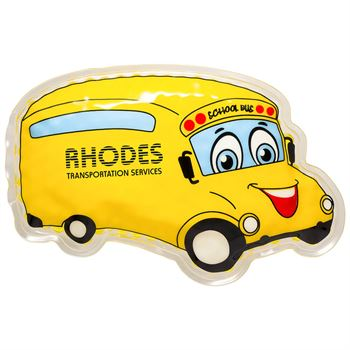School Bus Hot/Cold Pack - Personalization Available