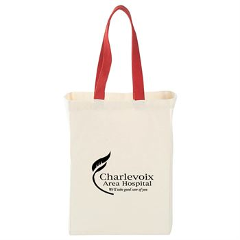 Natural Cotton Grocery Tote - Personalization Available