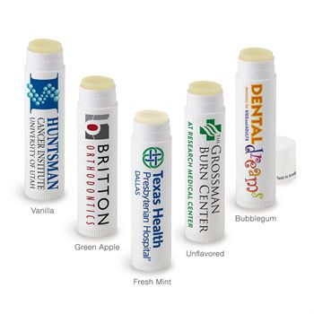 Medical Grade Petroleum-Free Lip Balm - Personalization Available