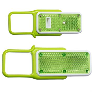 Carabiner Whistle Safety Light - Personalization Available