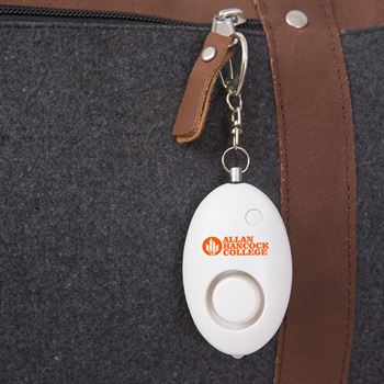 Safety Alarm Key Chain - Personalization Available