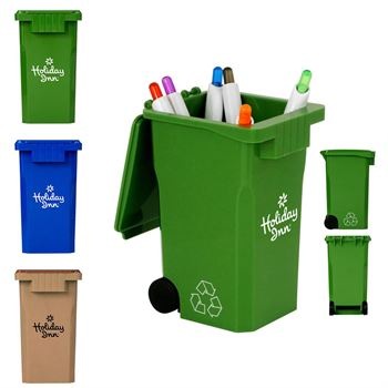 Recycle Bin Pen Holder - Personalization Available