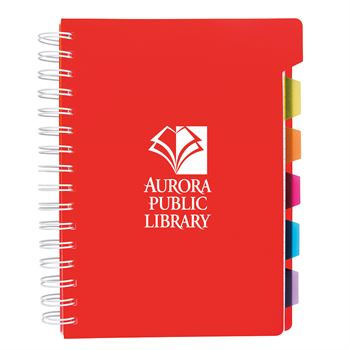 Bic® Spiral Notebook With Tabs - Personalization Available