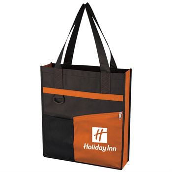 Non-Woven Fashionable Tote Bag - Personalization Available