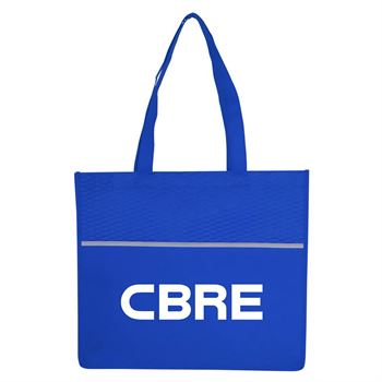 Wave Shopping Tote - Personalization Available