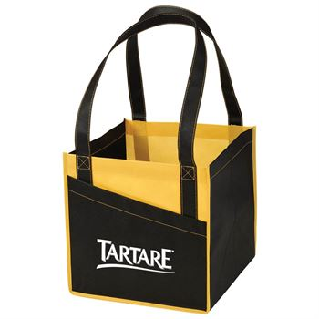 Cube Non-Woven Utility Tote - Personalization Available