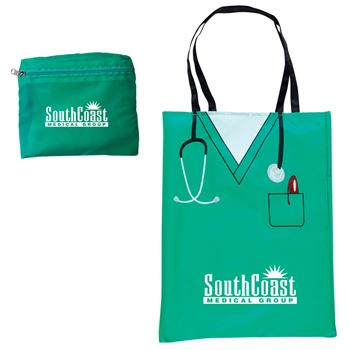 Convertible Scrubs Tote - Personalization Available
