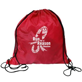 RPET Drawstring Backpack - Personalization Available
