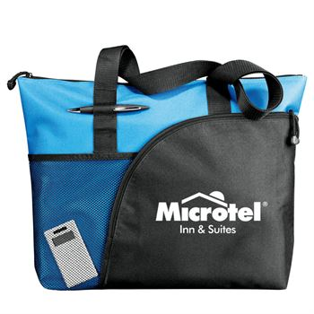 Excel Sport Zippered Utility Business Tote - Personalization Available