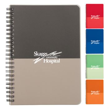 Color Block Notebook - Large - Personalization Available
