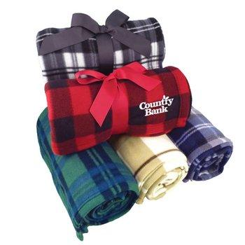 Pattern Fleece Blanket - Personalization Available