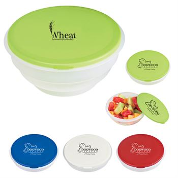 Collapsible Big Lunch Bowl - Personalization Available