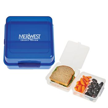 Split-Level Lunch Container - Personalization Available