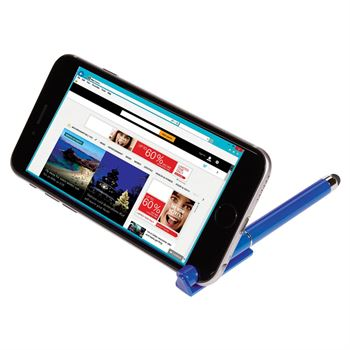 Stylus Pen With Phone Stand And Screen Cleaner - Personalization Available