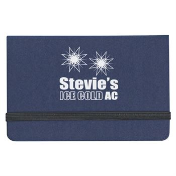 Sticky Notes And Flags In Business Card Case - Personalization Available