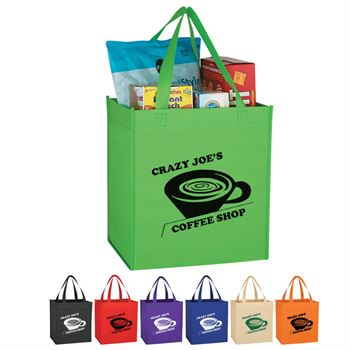 Non-Woven Shopping Tote Bag - Personalization Available