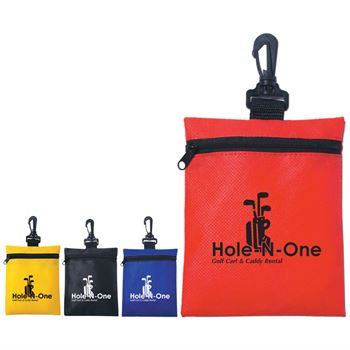Non-Woven Zippered Pouch - Personalization Available