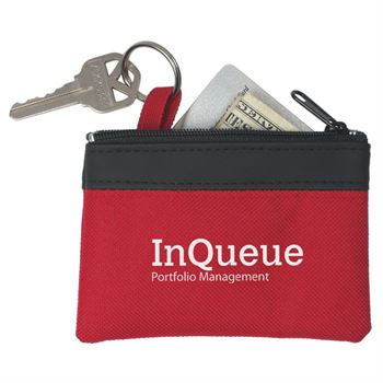 Solid Zippered Coin Pouch - Personalization Available