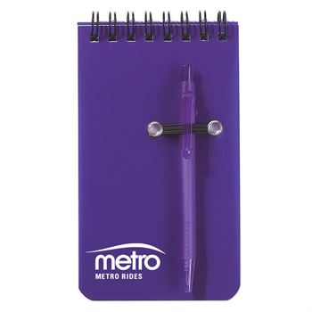 Spiral Jotter & Pen - Personalization Available