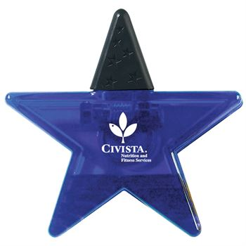 Star Shape Clip - Personalization Available
