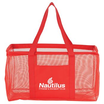 Mesh Oversized All-Purpose Tote - Personalization Available
