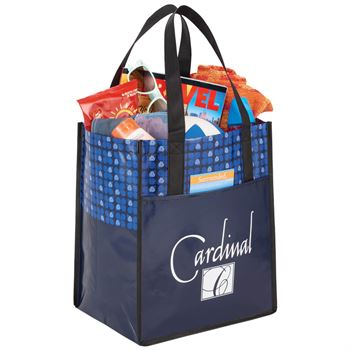 Big Grocery Laminated Non-Woven Tote - Personalization Available