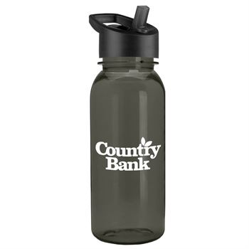 The Cadet Water Bottle With Flip Straw Lid 18-oz. - Personalization Available