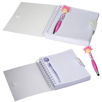 Awareness MopTopper™ Stylus Pen & Notebook Set - Personalization Available