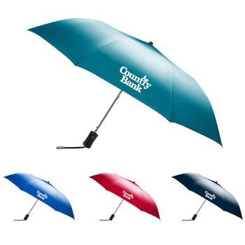 Ombre Auto Open Folding Umbrella - Personalization Available