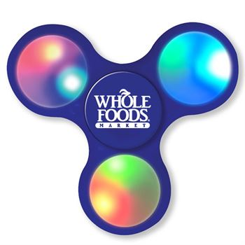 Light-Up LED Fun Fidget Spinner - Personalization Available