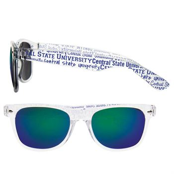 Mirrored Lens Sunglasses - Personalization Available