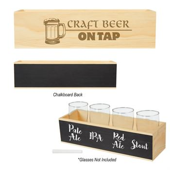 Chalkboard Flight Crate - Personalization Available