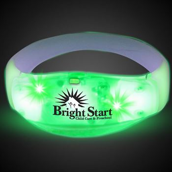 LED Stretchy Bangle Bracelets - Personalization Available