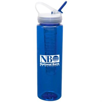Water Bottle With Ice Stick 32-oz. - Personalization Available