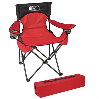 Deluxe Padded Folding Chair With Carrying Bag - Personalization Available