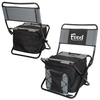 Foldable Cooler Chair - Personalization Available