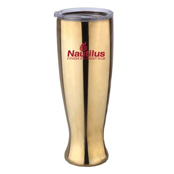Stainless Steel Pilsner Shaped Bottle 23-oz. - Personalization Available