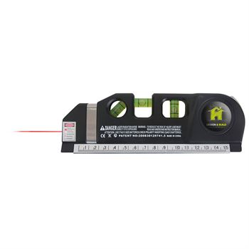 Laser Level With 8' Tape Measure - Personalization Available