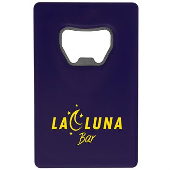 Credit Card Bottle Opener™ - Personalization Available