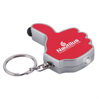 Thumbs-Up LED Keyring / Stylus - Personalization Available