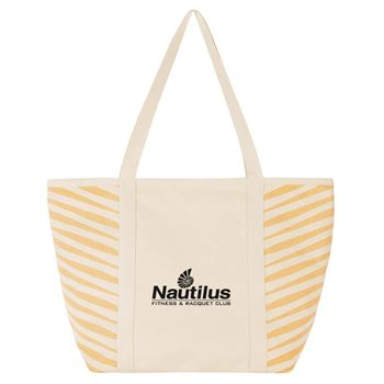 Zebra Colored Cotton Tote