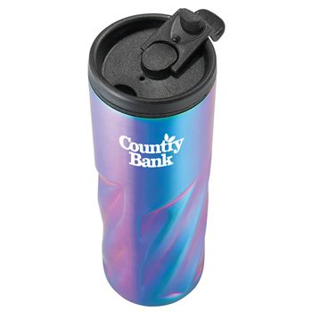 Slash Iridescent Vacuum Tumbler 16-oz. - Personalization Available