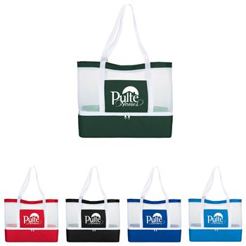 Mesh Outdoor Cooler Tote - Personalization Available