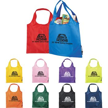 Bungalow Foldaway Shopper Tote - Personalization Available
