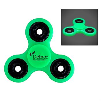 Glowing Fun Spinner - Personalization Available