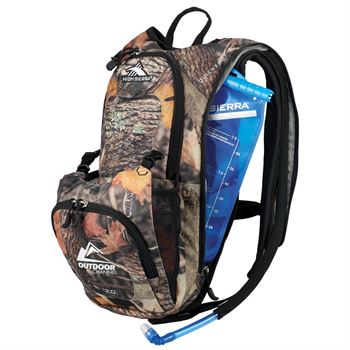 High Sierra® Quickshot King's Camo Hydration Pack - Personalization Available