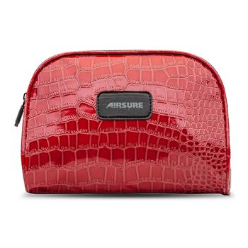 Shiny Crocodile Makeup Bag - Personalization Available